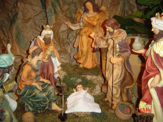 5-El Nacimiento del Ni_o Jesus. Belén de la Familia Jiménez Gómez (República Dominicana)