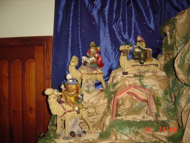 7-La Cabalgata de Los Reyes. Belén de la Familia Jiménez Gómez (República Dominicana)
