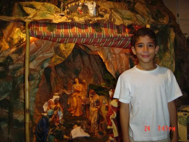 Manuel-Jose. Belén de la Familia Jiménez Gómez (República Dominicana)