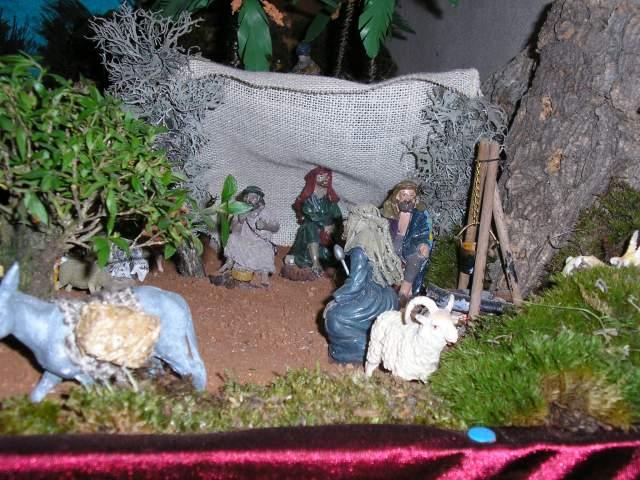 Anunciacion a los pastores. Belén de Alex y David Tormos Lahuerta (Museros - Valencia)