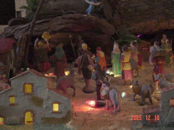 El portal iluminado. Belén de Cristian Carrion Gisbert (Alcoy - Alicante)