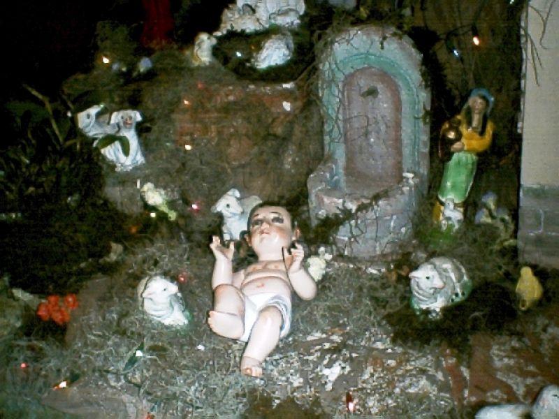 Nacimiento 2005 05. Belén de Enio Paúl Alvarez Morales (La Antigua Guatemala - Guatemala)