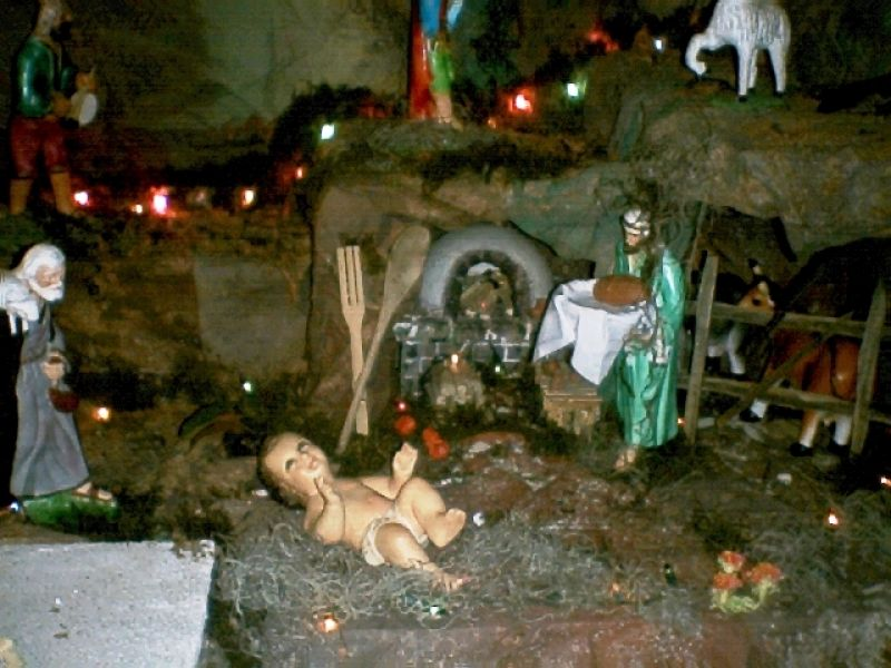 Nacimiento 2005 08. Belén de Enio Paúl Alvarez Morales (La Antigua Guatemala - Guatemala)
