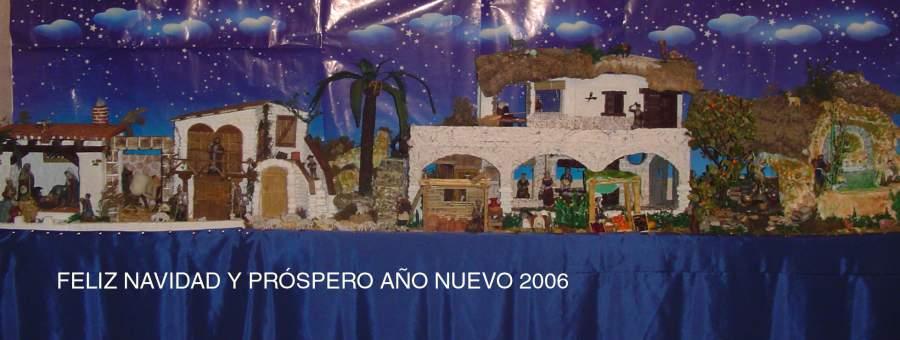 El nacimiento 2006. Belén de Jesús B. (Algeciras)