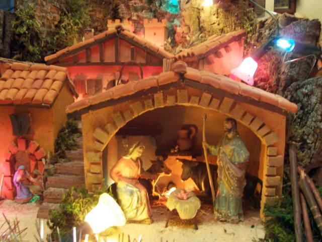 Detalle del portal. Belén de Josu (Vitoria)