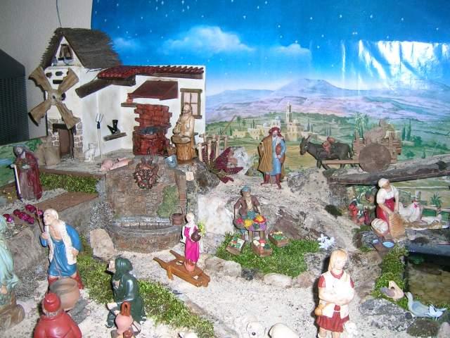 Molino. Belén de Jesús San Antolín