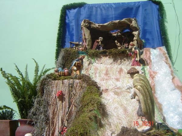 Nacimiento Casa Sanchez 001. Belén de Carlos Sánchez (Ciudad de Puebla - México)