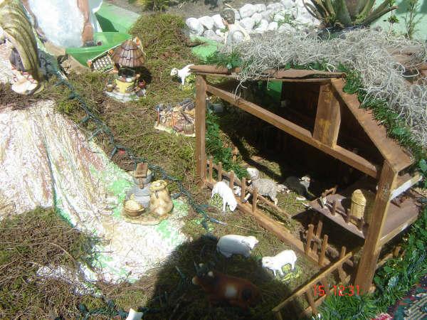 Nacimiento Casa Sanchez 002. Belén de Carlos Sánchez (Ciudad de Puebla - México)