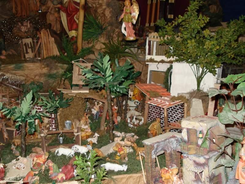 nd_9-La Anunciacion a Los Pastores. Belén de Jiménez Gómez (República Dominicana)