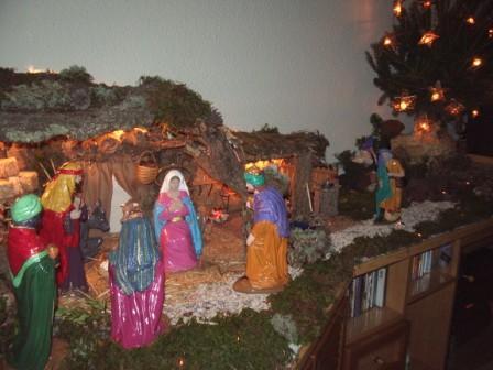2006 - Navidad - 1. Belén de Pedro Reyero y Merche Alvarez (Barcelona)