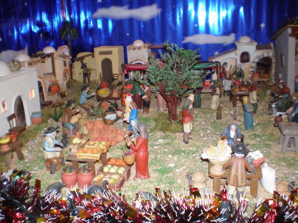 detalle mercado 2. Belén de la Familia Baeza Fernández (Murcia)