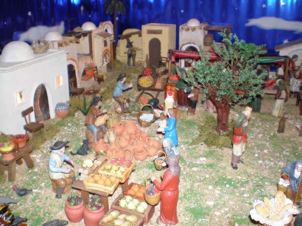 detalle mercado1. Belén de la Familia Baeza Fernández (Murcia)