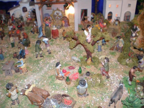 la anunciacion a los pastores 2. Belén de la Familia Baeza Fernández (Murcia)