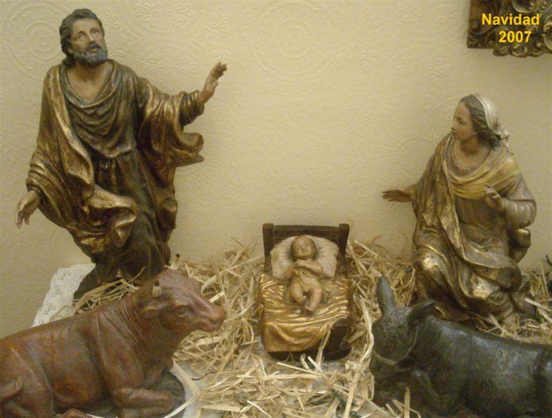 Misterio Navidad 2007. Belén de Alberto Martínez del Amo (Portugalete - Vizcaya)