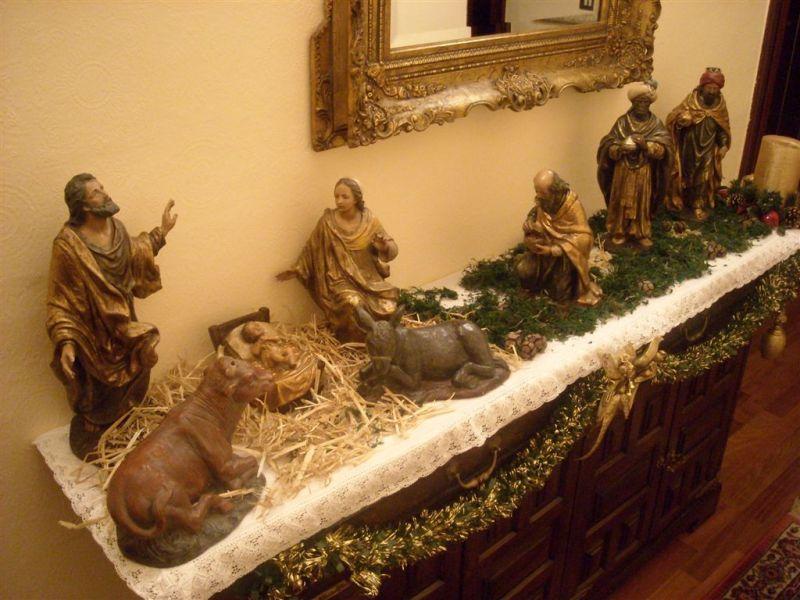 Navidad con los Reyes. Belén de Alberto Martínez del Amo (Portugalete - Vizcaya)