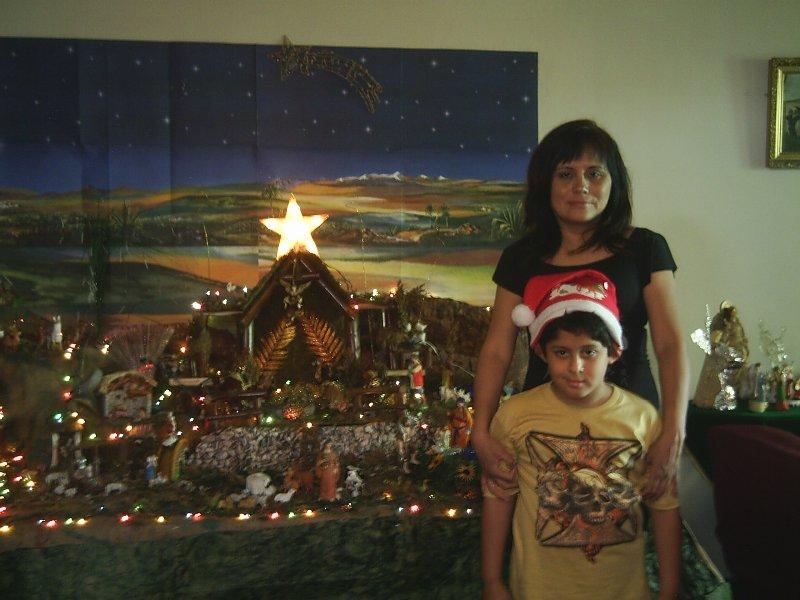 navidad 23 dic 2007 028. Belén de Anita Pineda y Gabriel (Lima - Perú)