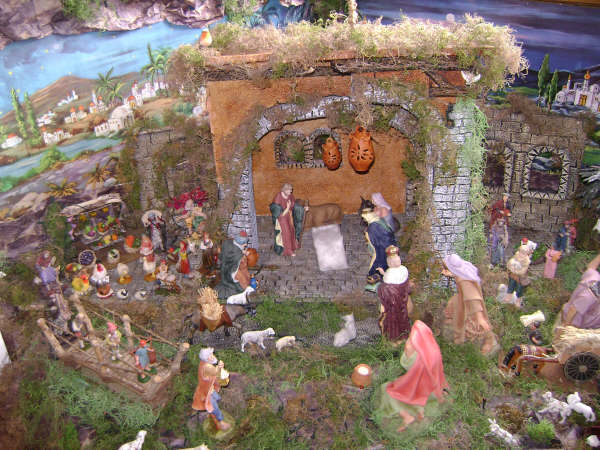 Pesebre Navideno (2). Beln de Daisy Pacheco (San Antonio de los Altos - Miranda - Venezuela)