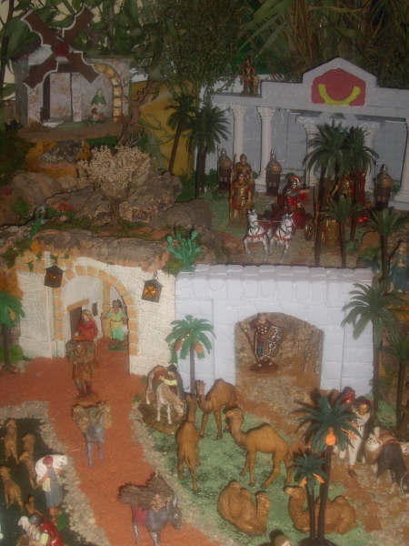bajada romana. Belén de David Peinado e Hijo (Sevilla)