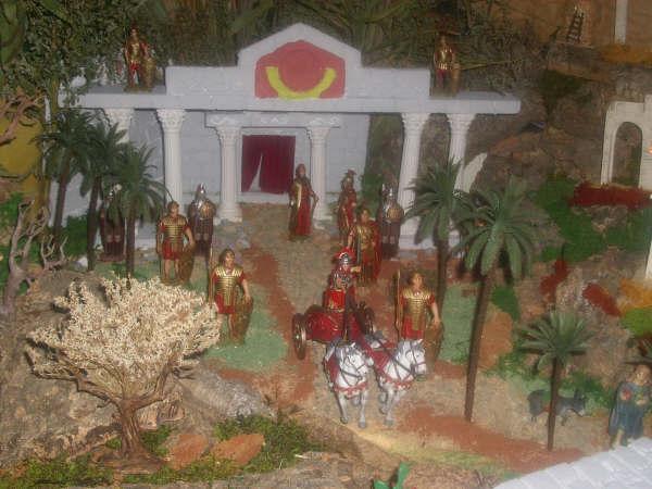 romanos. Belén de David Peinado e Hijo (Sevilla)