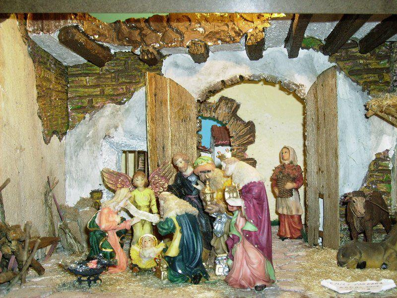 La Adoracion de los Reyes. Dioramas de Emili Tordera Preixens (Lérida)
