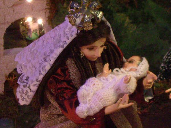 13 Maria y Jesus. Belén de la Familia Osegueda Zepeda (Ciudad Guatemala - Guatemala)
