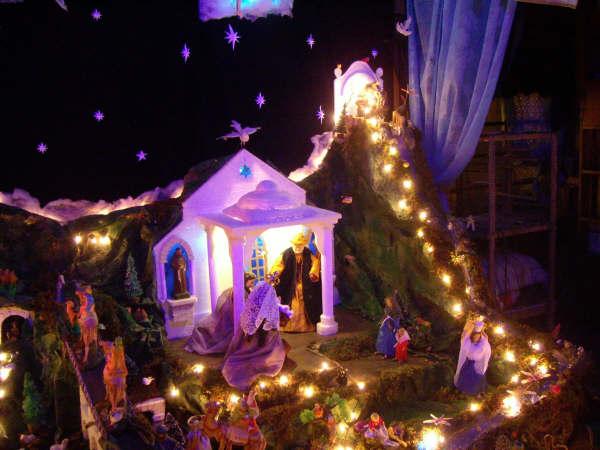 14 presentacion en el templo 03. Belén de la Familia Osegueda Zepeda (Ciudad Guatemala - Guatemala)