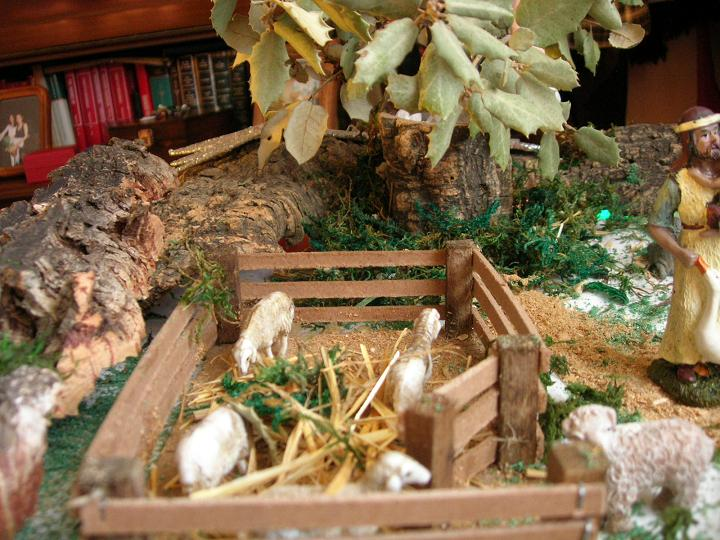Redil ovejas. Belén de Francisca Montero Villalba (Navalmoral de la Mata - Cáceres)