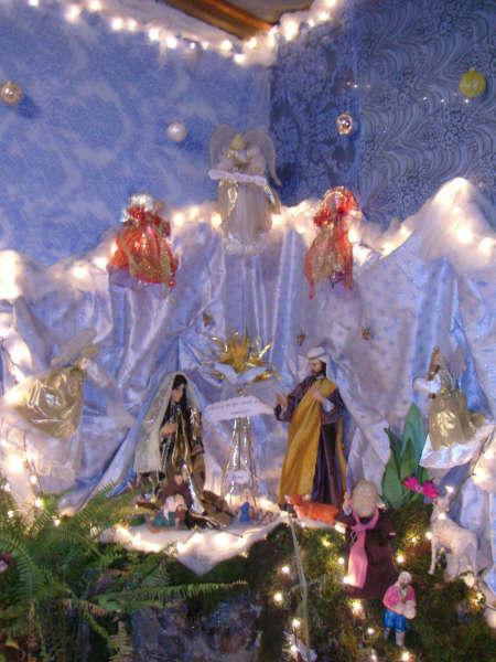 08 EL NACIMIENTO DE JESUS. Belén de Hugo Osegueda (Guatemala - Guatemala)