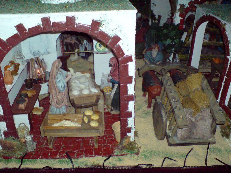 panaderia. Belén de Juani Egea Muñoz (Lucena - Córdoba)