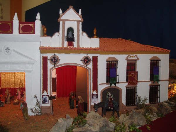 buscando posada. Belén de Manuel Pozo Campos (Casariche - Sevilla)