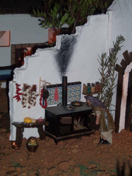 cocina casa. Belén de Manuel Pozo Campos (Casariche - Sevilla)