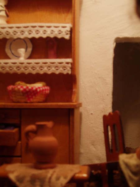 detalle casa. Belén de Manuel Pozo Campos (Casariche - Sevilla)