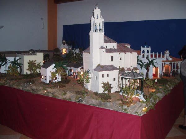 panoramica belen. Belén de Manuel Pozo Campos (Casariche - Sevilla)