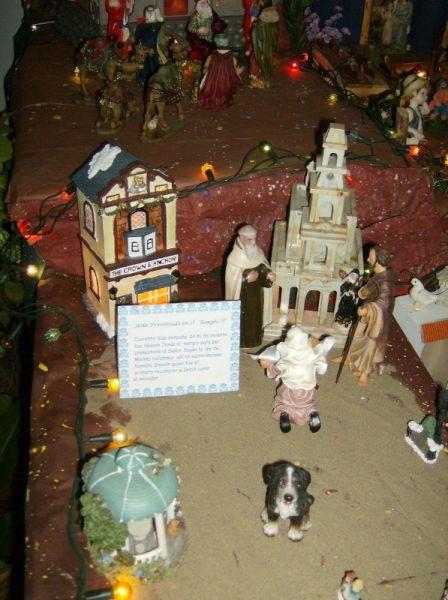 Pesentacion en el Templo. Belén de Nelida Callirgos (Trujillo - Perú)
