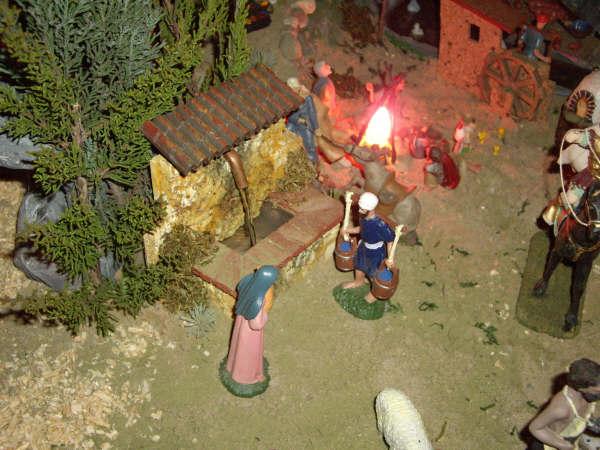 la fuente. Belén de Pedro Jose Perez Trujillo (Carcastillo - Navarra - Logroño)
