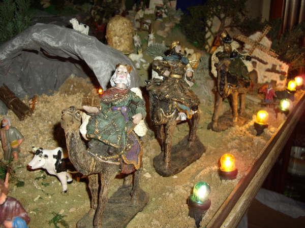 los reyes. Belén de Pedro Jose Perez Trujillo (Carcastillo - Navarra - Logroño)