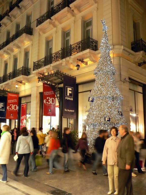 Arbol de Navidad ateniense. Atenas (Grecia) (Atenas)