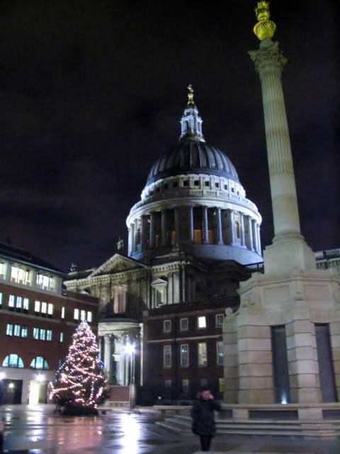 Arbol en la Catedral de San Paul. Londres (Inglaterra) (Londres)