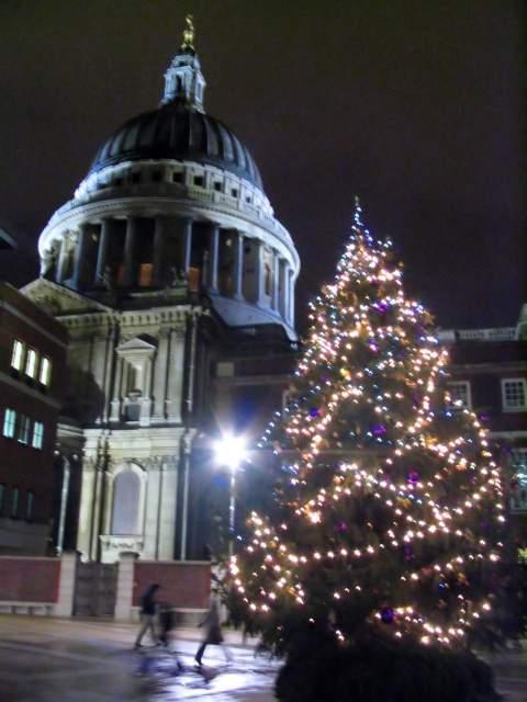 Detalle del arbol de San Paul. Londres (Inglaterra) (Londres)