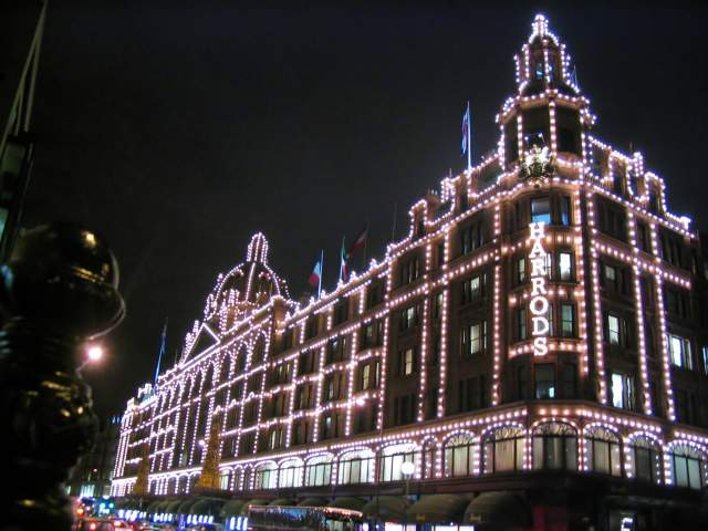 Los grandes almacenes Harrods. Londres (Inglaterra) (Londres)