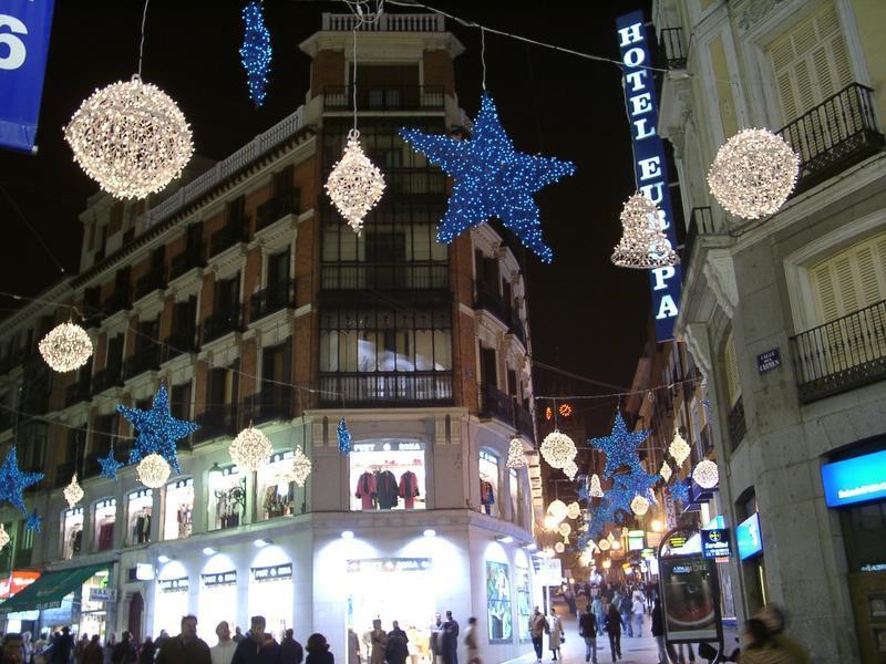 Estrellas de Navidad. Navidad 2004 en Madrid