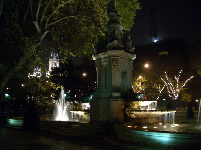 Luna llena escondida. Navidad 2004 en Madrid