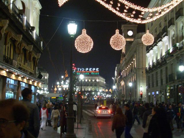 Un clasico. Navidad 2004 en Madrid