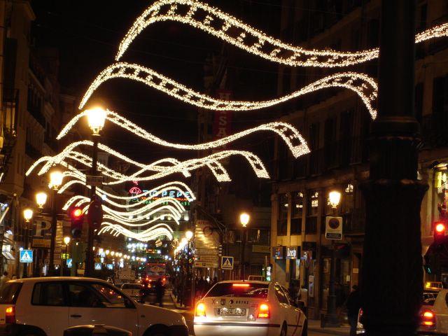 Centro. Navidad 2005 en Madrid