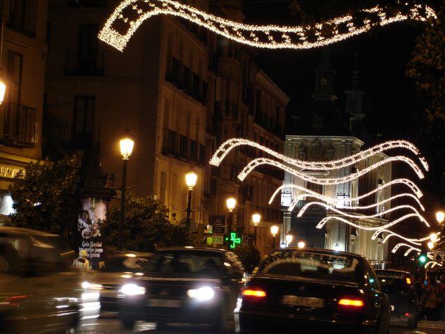 Mantas de luz 5. Navidad 2005 en Madrid