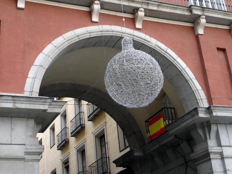 PlazaMayor2. Navidad 2005 en Madrid