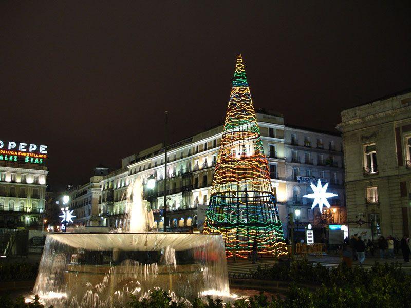 Abeto de Sol 2006 - 2. Navidad 2006 en Madrid