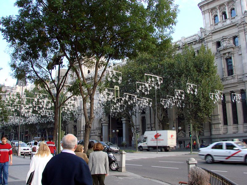 AlcalaNov2006. Navidad 2006 en Madrid