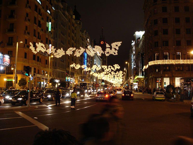 Gran Via 2006. Navidad 2006 en Madrid