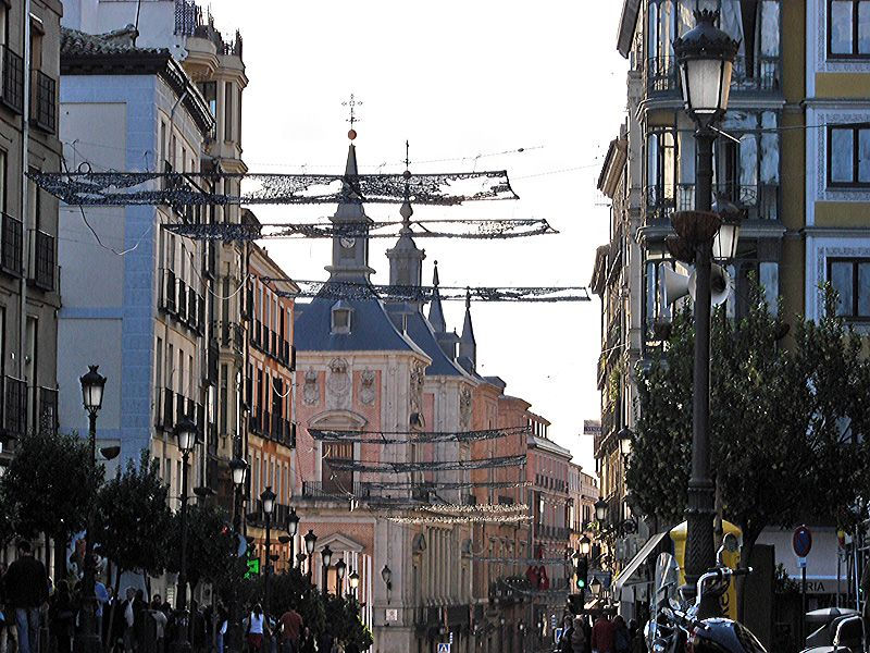 Mas placas luminosas _2_. Navidad 2006 en Madrid
